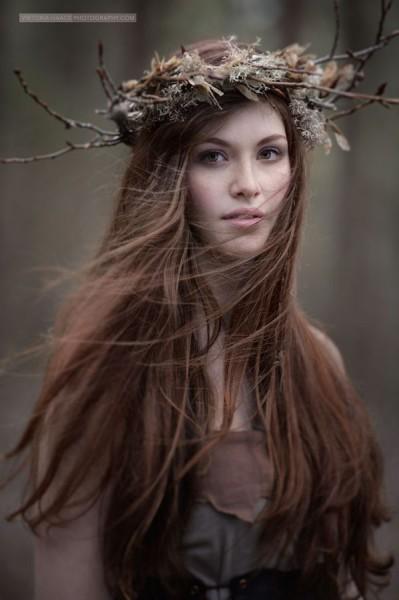 couronne en branche