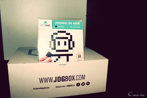 JDG Box Stickaz