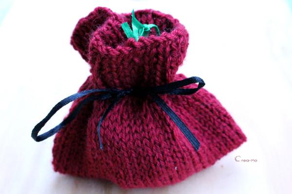 Bourse en tricot