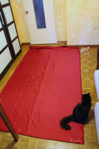 6 metre de tissu