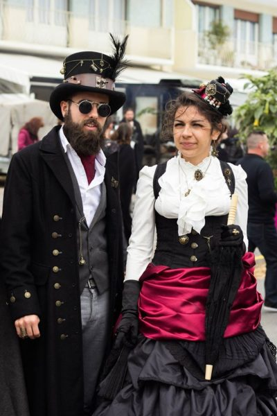 Cidre et Dragon 2016 couple steampunk