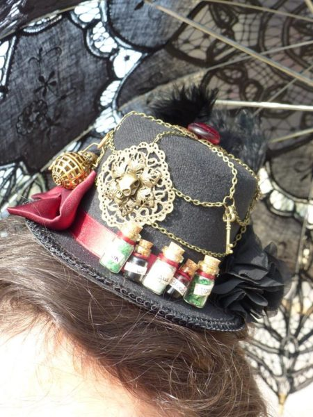 Cidre et Dragon 2016 mini hat steampunk