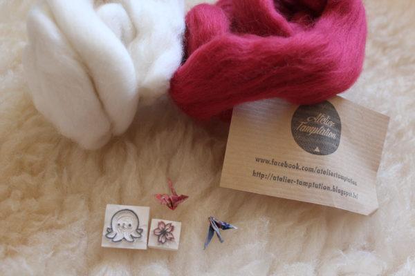 Atelier tamptation - laine et tampons